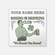 Personalizable Irish Club Sticker
