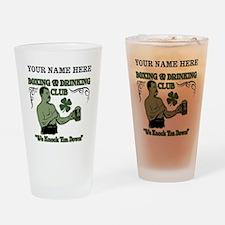 Personalizable Irish Club Drinking Glass
