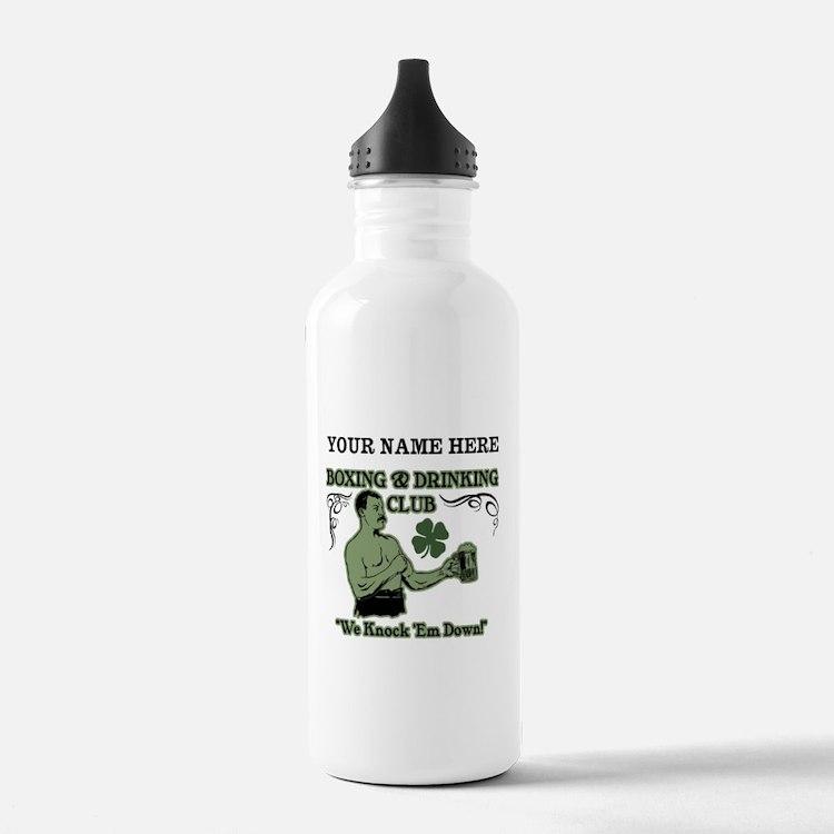 Personalizable Irish Club Water Bottle