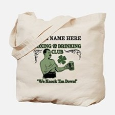 Personalizable Irish Club Tote Bag