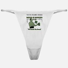 Personalizable Irish Club Classic Thong