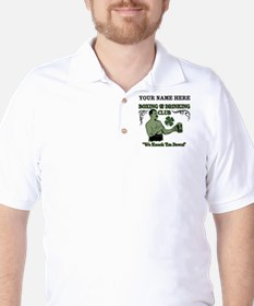 Personalizable Irish Club Golf Shirt