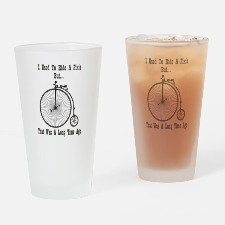 Cute Old time Drinking Glass