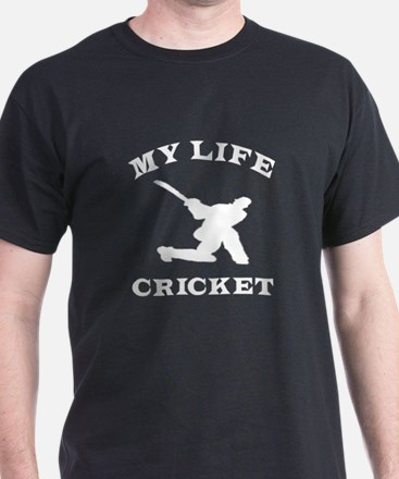 My Life Cricket T-Shirt