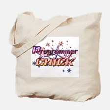 Programmer Chick Tote Bag