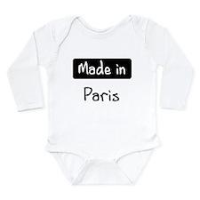 Made in Paris Body Suit