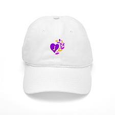 Giraffe Heart Baseball Cap