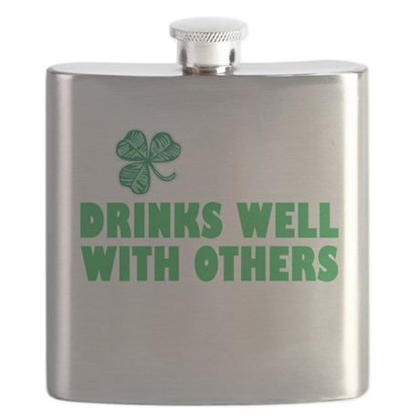 Drinks Well With Others - Flask