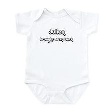 Sexy: Julien Infant Bodysuit
