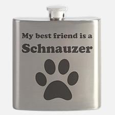 Schnauzer Best Friend Flask