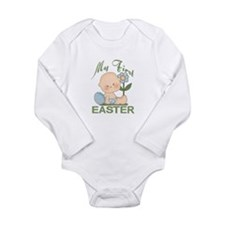 1st Easter Baby Boy Body Suit