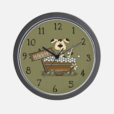 Cute Idea animal lover christmas Wall Clock
