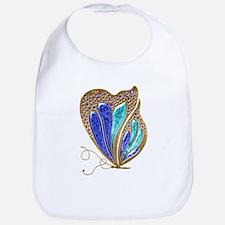 Bejeweled Butterfly Bib