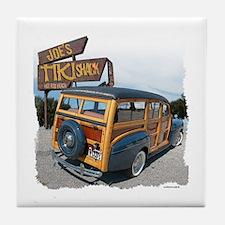 Joe's Tiki Woody Tile Coaster