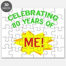 Celebrate My 80th Birthday Puzzle