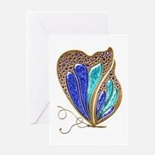 Bejeweled Butterfly Greeting Card