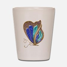 Bejeweled Butterfly Shot Glass