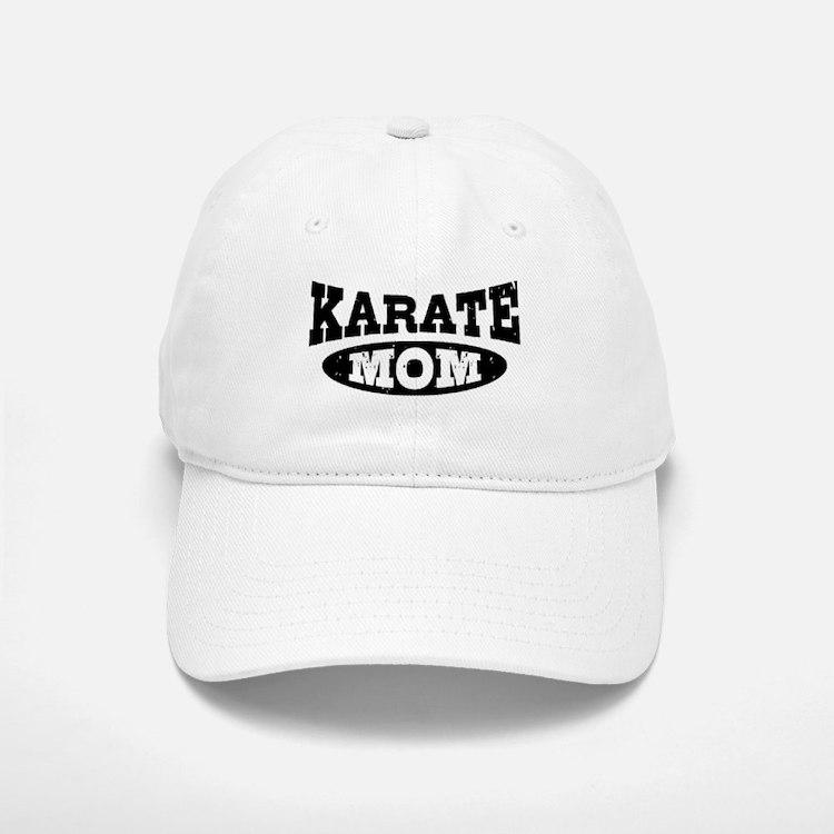 Karate Mom Baseball Baseball Cap