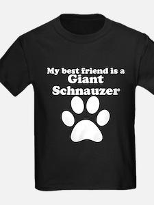 Giant Schnauzer Best Friend T-Shirt