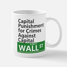 Capital Punishment For Crimes Against Capital Mug
