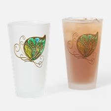 Bejeweled Fusion Butterfly Drinking Glass