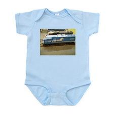Blue Train Body Suit