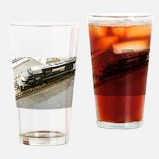 Locomotive Drinking Glass