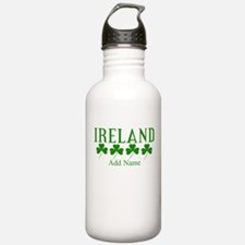 Lucky Irish Shamrocks Water Bottle