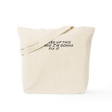 Cute Fix up Tote Bag