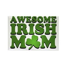 Awesome Irish Mom Rectangle Magnet