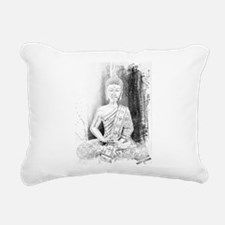 Zen Buddha Art Rectangular Canvas Pillow