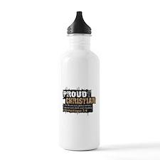 ProudChristian copy Water Bottle