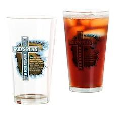 GodsPlan copy Drinking Glass