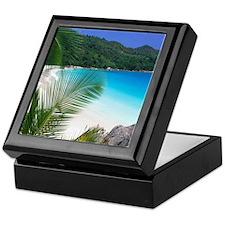 Tropical Paradise Beach Keepsake Box