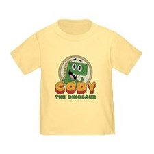 Toddler - Cody The Dinosaur Vintage T-Shirt