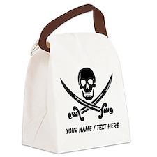 Custom Pirate Canvas Lunch Bag