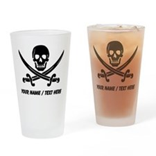 Custom Pirate Drinking Glass
