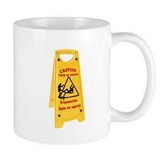 Caution This is Sparta Mug