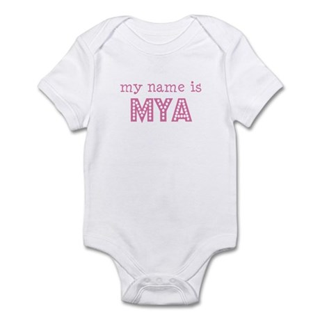 My name is Mya Infant Bodysuit