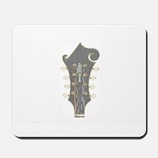 Plaid Mandolin Headstock Mousepad