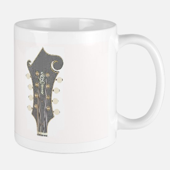 Plaid Mandolin Headstock Mug