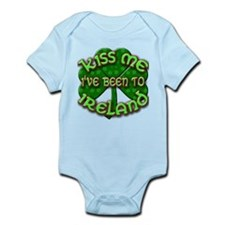 KISS ME I've Been to IRELAND Infant Bodysuit