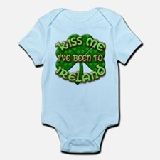 KISS ME I've Been to IRELAND Infant Bodysuit