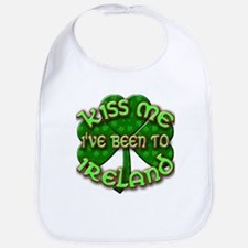 KISS ME I've Been to IRELAND Bib