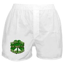 KISS ME I've Been to IRELAND Boxer Shorts