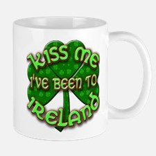 KISS ME I've Been to IRELAND Mug