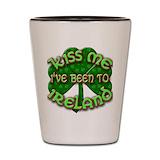 Kiss me i 27m irish Shot Glasses