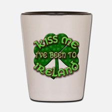 KISS ME I've Been to IRELAND Shot Glass