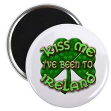 KISS ME I've Been to IRELAND Magnet