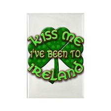 KISS ME I've Been to IRELAND Rectangle Magnet